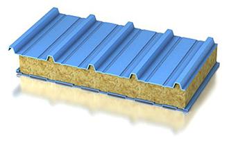 Кровельная сэндвич-панель минеральная вата