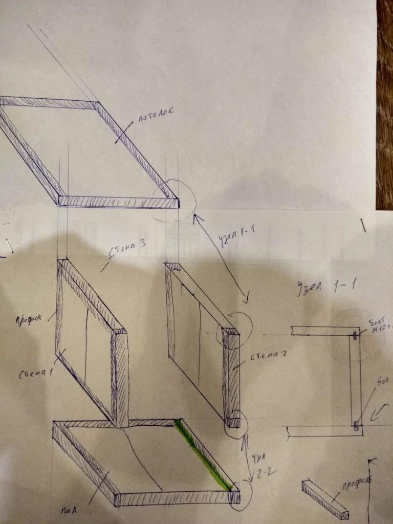 Схема сборки изотермического фургона