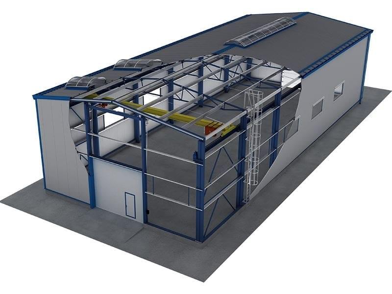 Строительство металлоконструкции